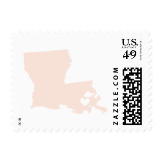 Love from New Orleans, LA in Blush Postage