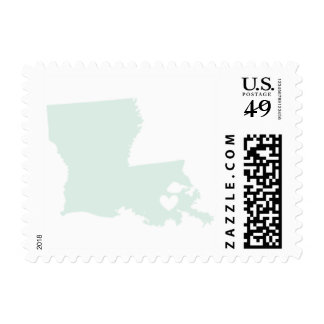 Love from New Orleans LA in Mint Stamp