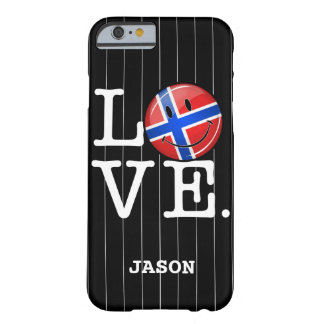 Love From Norway Smiling Flag Barely There iPhone 6 Case