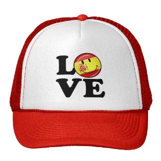Love From Spain Smiling Flag Trucker Hat