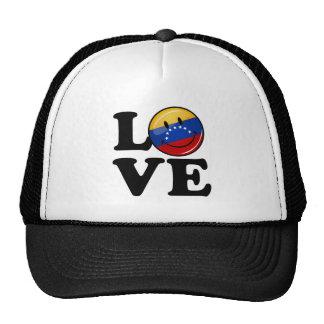 Love From Venezuela Smiling Flag Trucker Hat