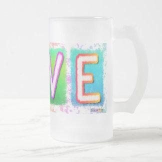 Love Frosted Mugs & Cups