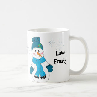 Love Frosty Coffee Mug