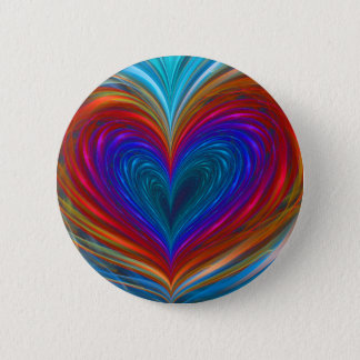 Love Full Of Color Button