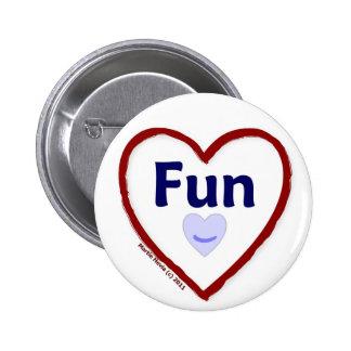 Love Fun Pinback Button