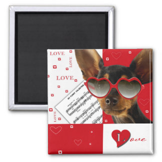 Love. Fun Valentine's Day Gift Magnet