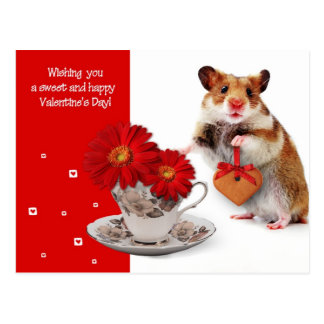 Love. Fun Valentine's Day Postcard