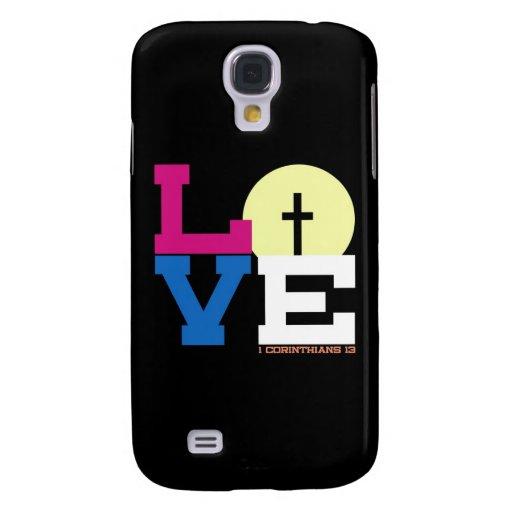 Love Galaxy S4 Cover