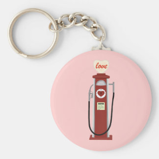 Love Gas Pump Keychain
