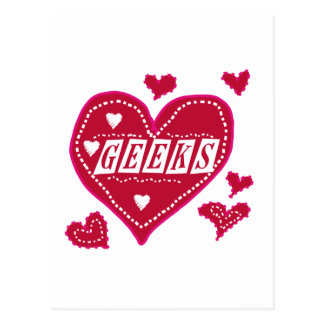 Love GEEKS Postcard