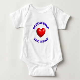 Love geocaching and the hunt baby bodysuit