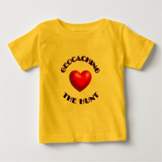 Love geocaching and the hunt baby T-Shirt
