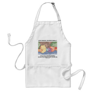 Love Geology Unconditionally Fault Driven World Adult Apron