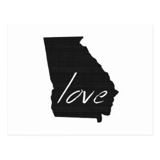 Love Georgia Postcard
