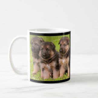 Love German Shepherd Puppy Dogs Coffee Mug