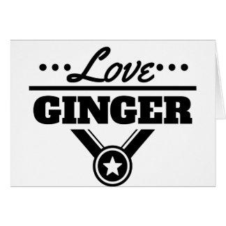 Love Ginger Card