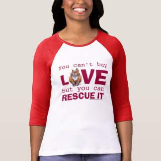 Love Ginger Cat Rescue It T-shirt