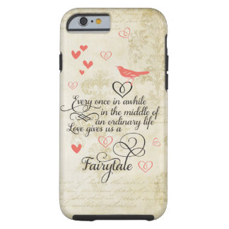 Love gives us a Fairy Tale Wedding iphone 6 case