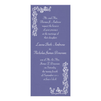 Love Gives Us Wings/ Wedding Custom Announcement