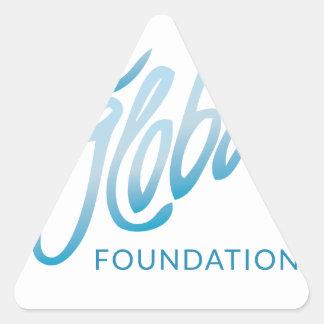 Love Global Foundation Triangle Sticker