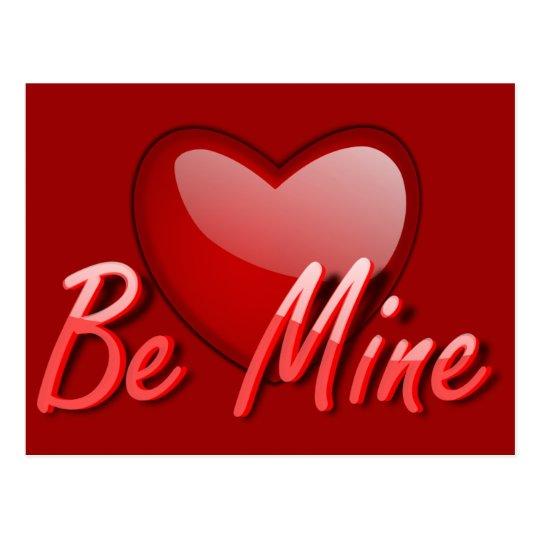 Love_Gloss_Be_Mine_Vector_Clipart Postcard