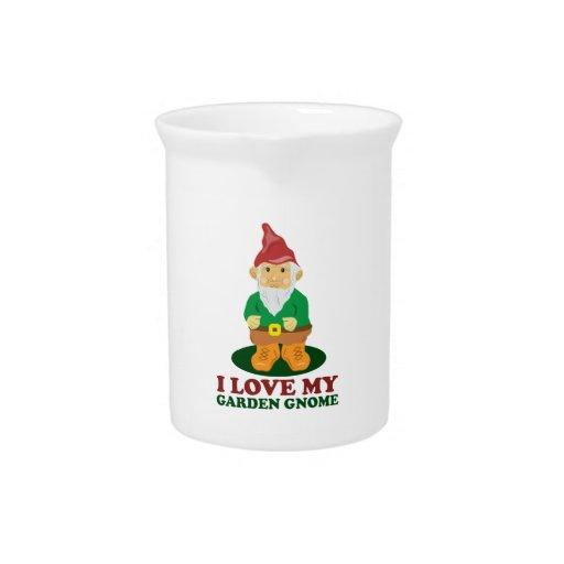 Love Gnome Beverage Pitchers