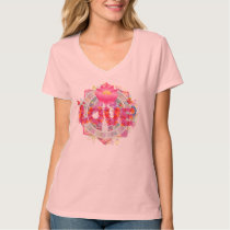LOVE ~ Go Vegan ~ Watch Earthlings T-Shirt