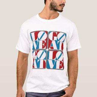 LOVE GOAT BLOCKS T-Shirt