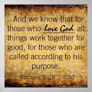 Love God Poster