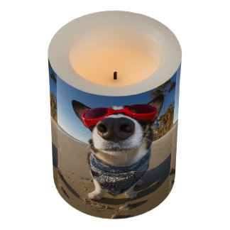 Love Goggles Flameless Candle