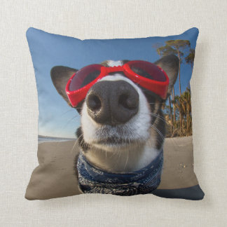 Love Goggles Throw Pillow