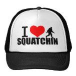 Love Going Squatchin Trucker Hat