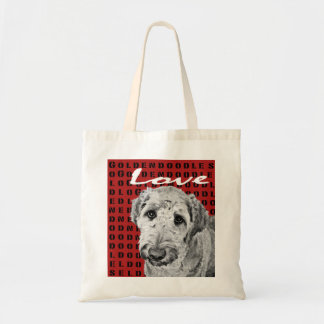 Love Goldendoodles Tote Bags
