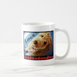 Love Goldendoodles Classic White Coffee Mug