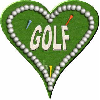 Love Golf Cutout