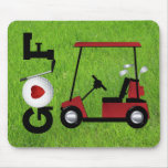 Love Golf Mouse Pad