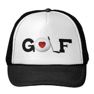 Love Golf Trucker Hat