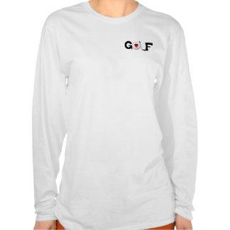 Love Golf T Shirt