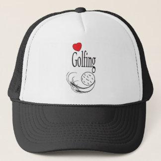 Love Golfing Trucker Hat