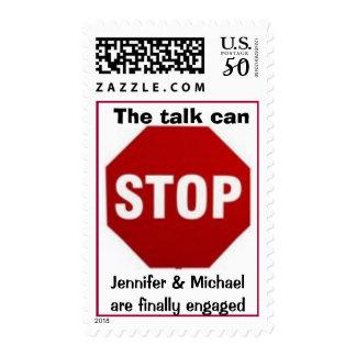 Love Gossip Engagement Postage