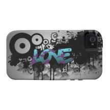 LOVE Graffiti iPhone 4 Cases