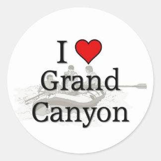 Love Grand Canyon Classic Round Sticker
