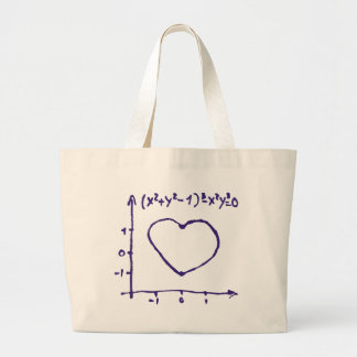 Love Graphic Large Tote Bag
