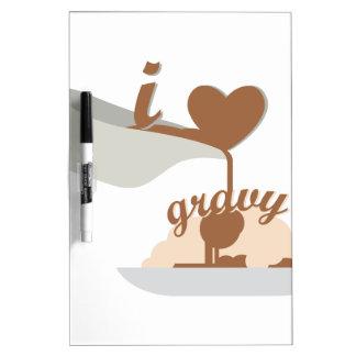 Love Gravy Dry Erase Board