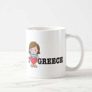 Love Greece Coffee Mugs