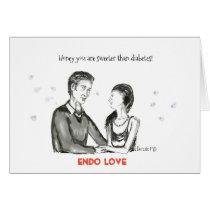 Love Greeting Card- Endo Love Card