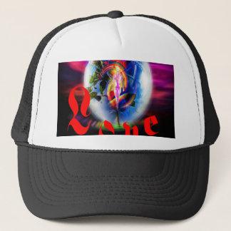Love greetings trucker hat