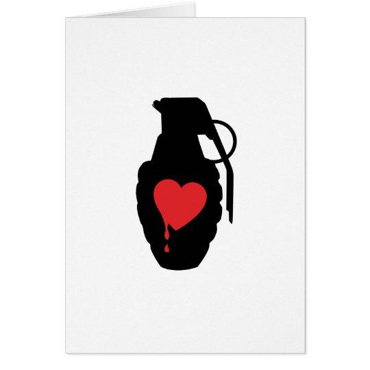 Love Grenade - Love is a Battlefield Card