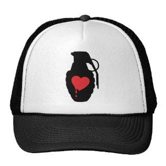 Love Grenade - Love is a Battlefield Trucker Hat
