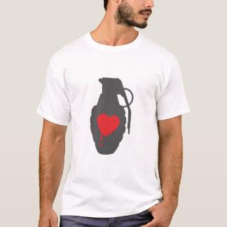 Love Grenade - Love is a Battlefield T-Shirt